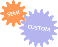 Semicustom products